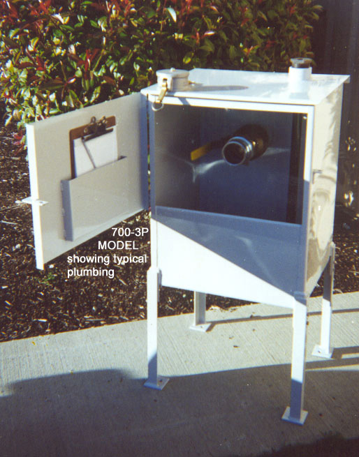 20GAL Leg-Mounted Ground Level Spill Containment